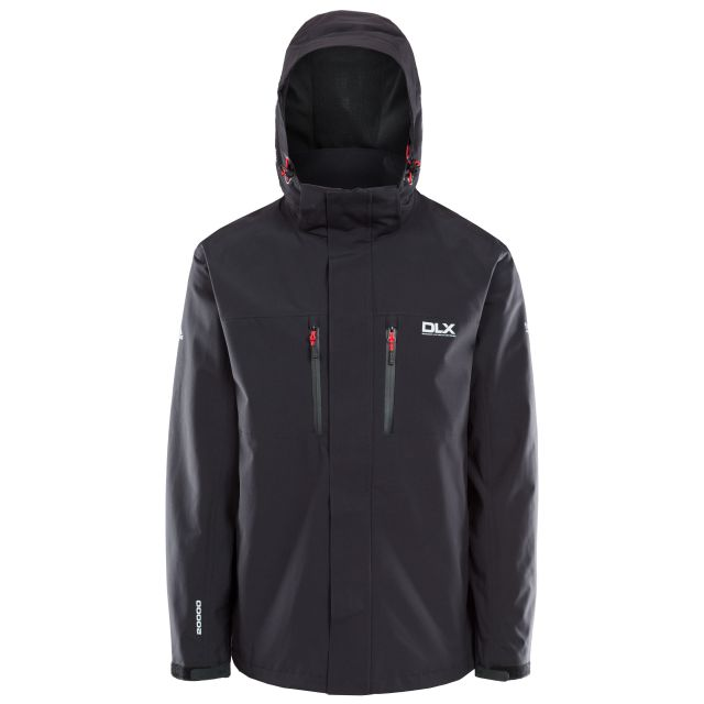 Oswalt Men's Waterproof Jacket in Black