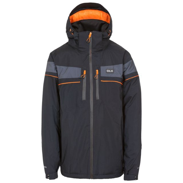 Pryce Mens Waterproof Ski Jacket in Black