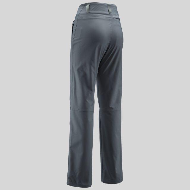 Raelyn Womens Breathable Walking Trousers in Grey
