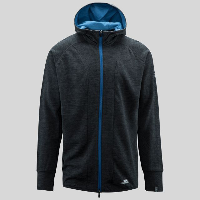 Rallied Men's DLX Hoodie in Grey