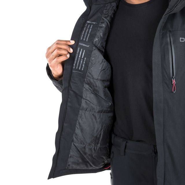 Renner Mens Waterproof Jacket in Black