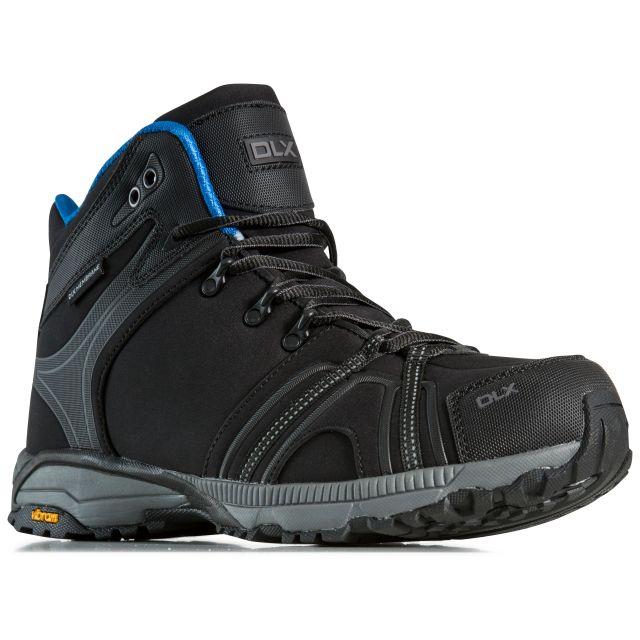 Rhythmic Mens Softshell Walking Boots in Black