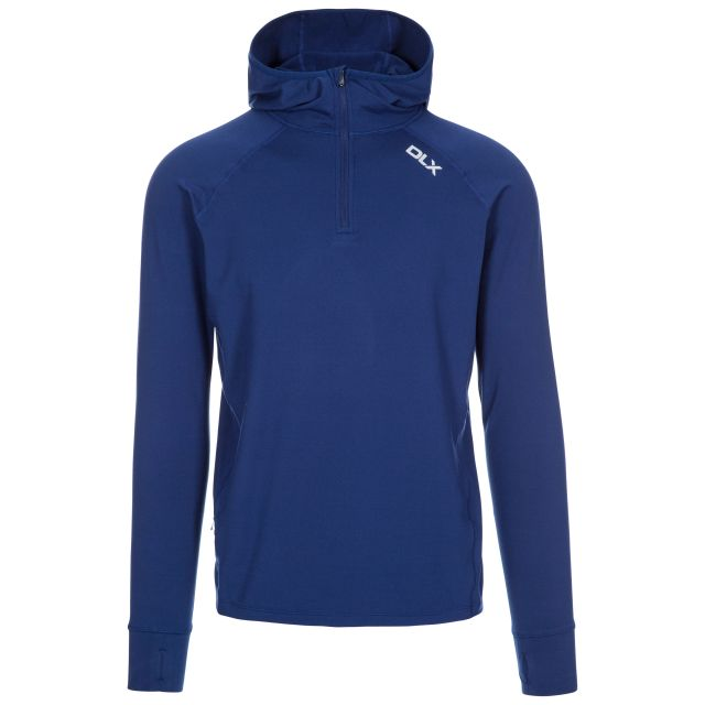 Robins Men's DLX Hooded Active Top - BLP