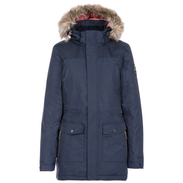 Rosario Womens Waterproof Casual Parka Jacket - NA1
