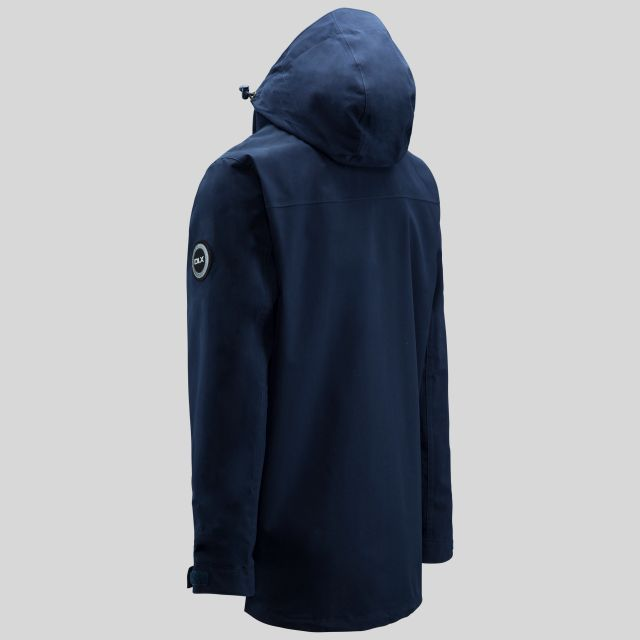 Rowland Mens Casual Waterproof Jacket in Navy