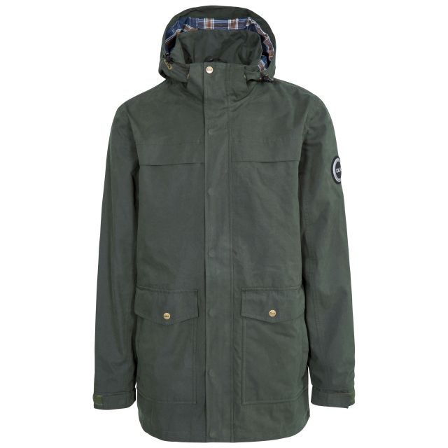 Rowland Mens Casual Waterproof Jacket - OLI