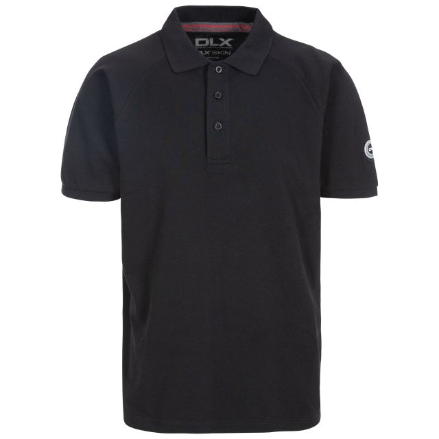 Sanderson Men's DLX Polo Shirt in Black