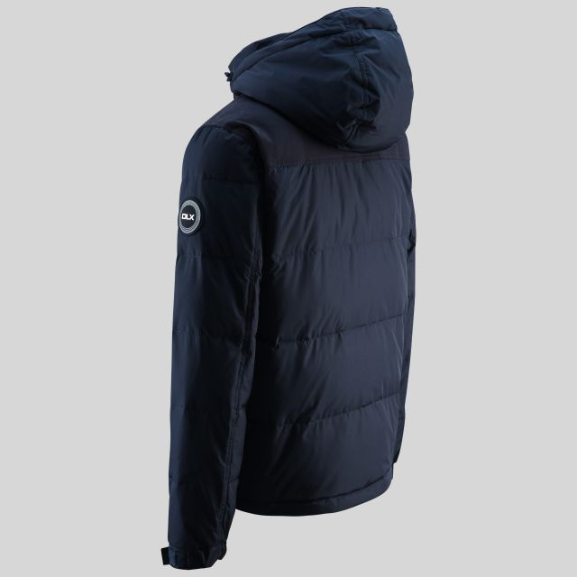 Scenery Mens Down Jacket in Navy