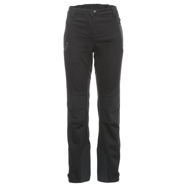 Sola Womens Softshell Walking Trousers in Black