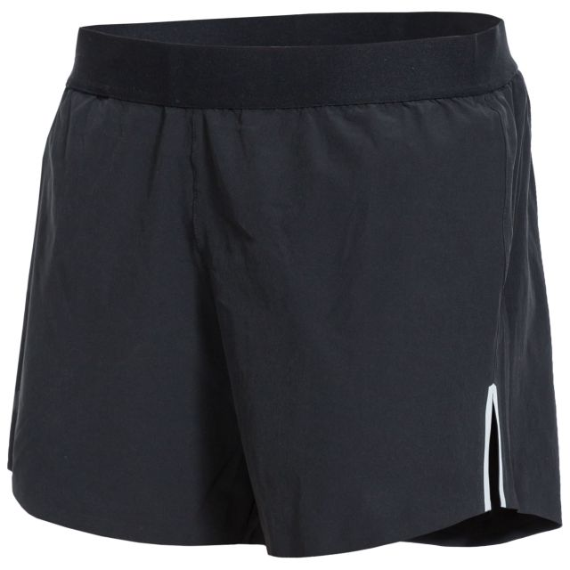 Tempos Womens Active Shorts in Black