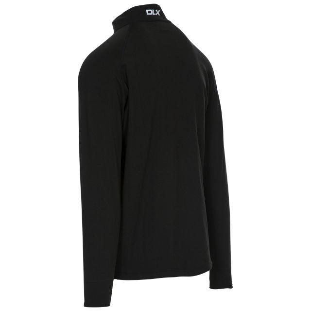 Tierney Mens Long Sleeved Top in Black