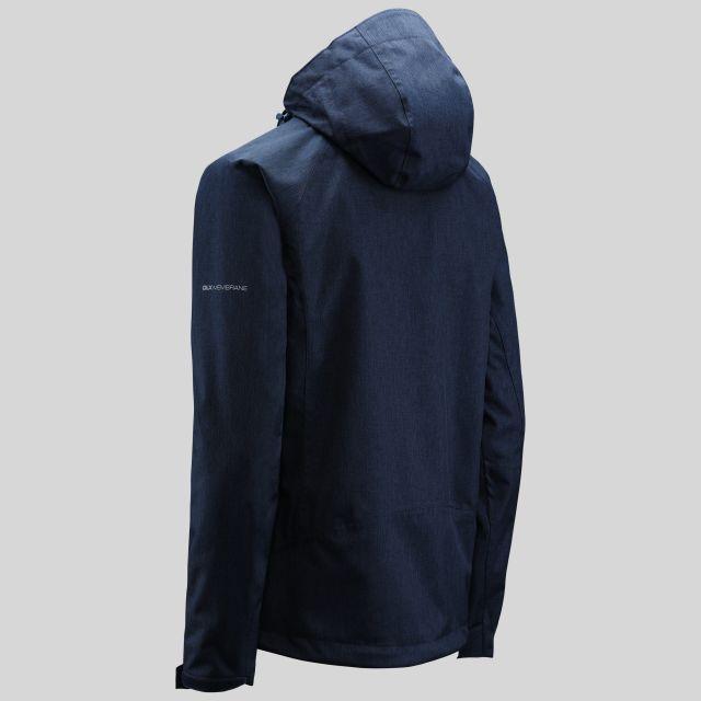 Tiya Womens Breathable Waterproof Jacket in Navy
